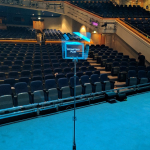 Theatre conference autocue